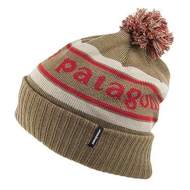 a18b7b7d1d0 Patagonia Hats Powder Town Bobble Hat - Brown Brown 1-Size  Amazon.co.uk   Clothing