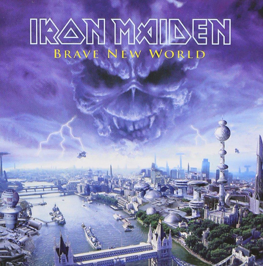 Resultado de imagem para Brave New World Iron Maiden