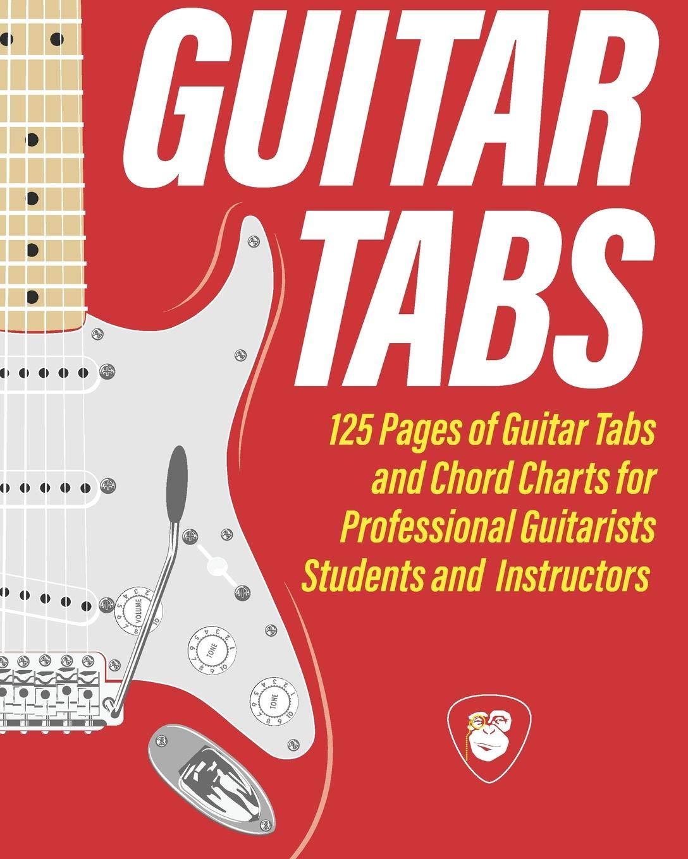 GUITAR TABS: The Electric Guitar Tab Notebook Guitarist Toolbox ...