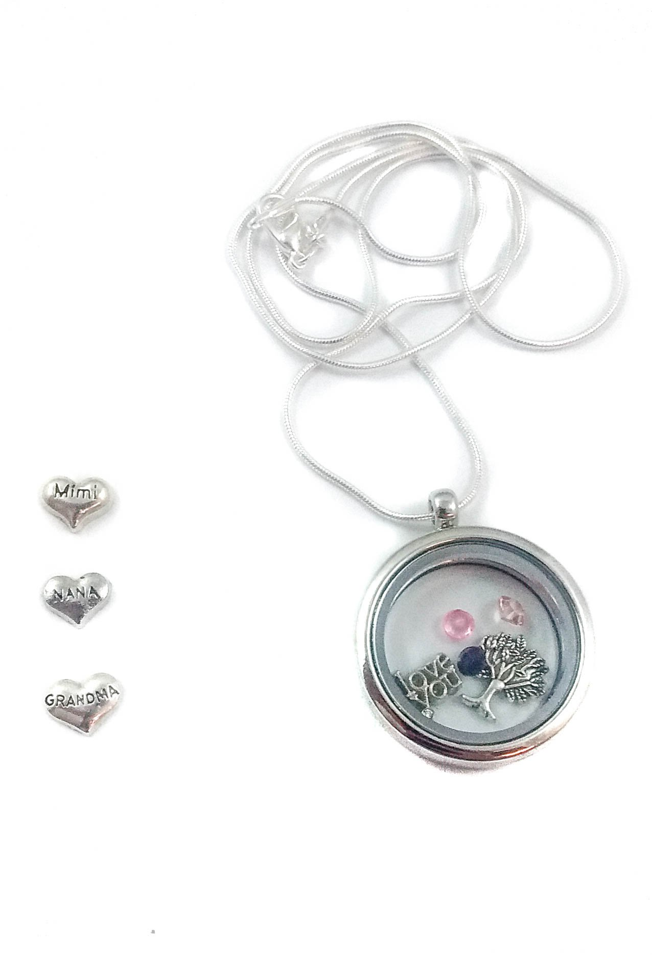 Grandma Mimi or Nana Mother's Day by Living Memory Lockets for Less Necklace Mothers Day (Nana)