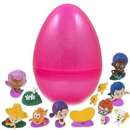 Amazon.com: 12 figuras de burbujas en el interior de huevo ...