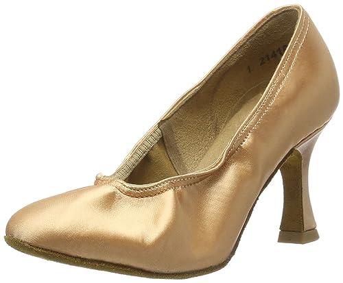 Diamant 069-085-094 - Zapatillas de Danza de Satén para Mujer Dorado Gold (Gold) 33 2/3 EU zddx0cRr1H