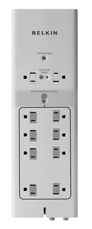 Amazon.com: Belkin Conserve AV Switch with Energy-Saving AV Surge ...