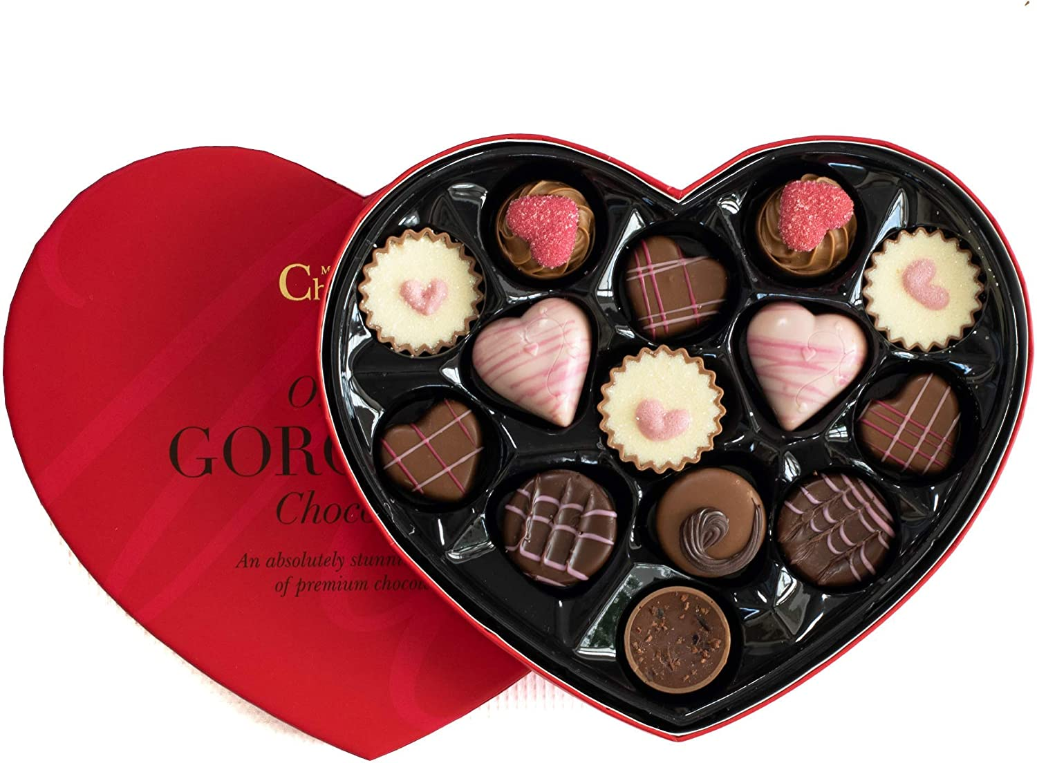 Image result for Chocolate Heart Box