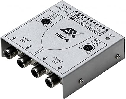 ESX ISC4High to Low Level Adapter-4-Channel High Low Converter