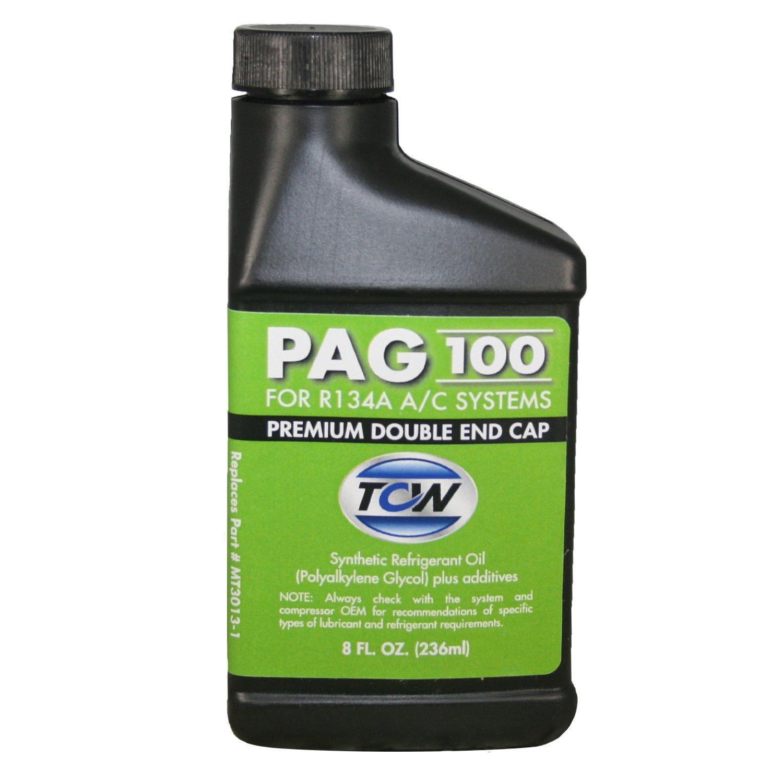 TCW MT3013-1 PAG 100 Premium Double End Cap Compressor Oil, 8 oz