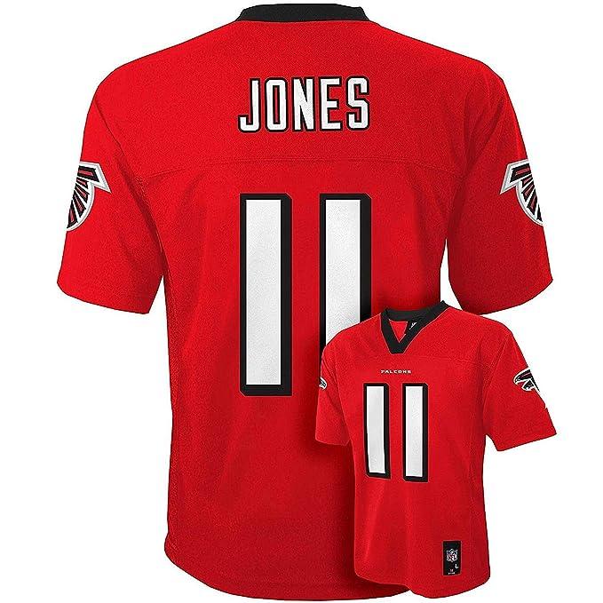 premium selection 00936 e5281 Julio Jones Atlanta Falcons #11 Red Kids Mid Tier Home Jersey