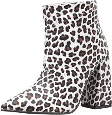 Womens Fashion Ankle Boots Pointed Toe