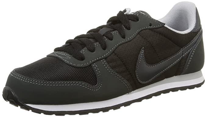 reputable site 4c517 6b44e Nike Womens Genicco Trainers 644451 Sneakers Shoes (US 6, Black White  Anthracite 012)