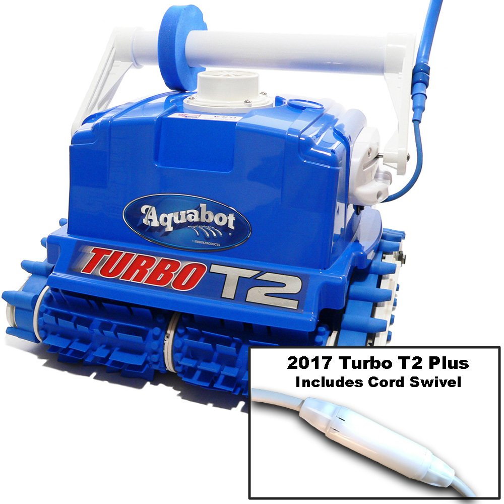 5338a1f9bd Amazon.com : Aquabot ABTURT2R1 Turbo T2 Plus Pool Cleaner : Garden & Outdoor
