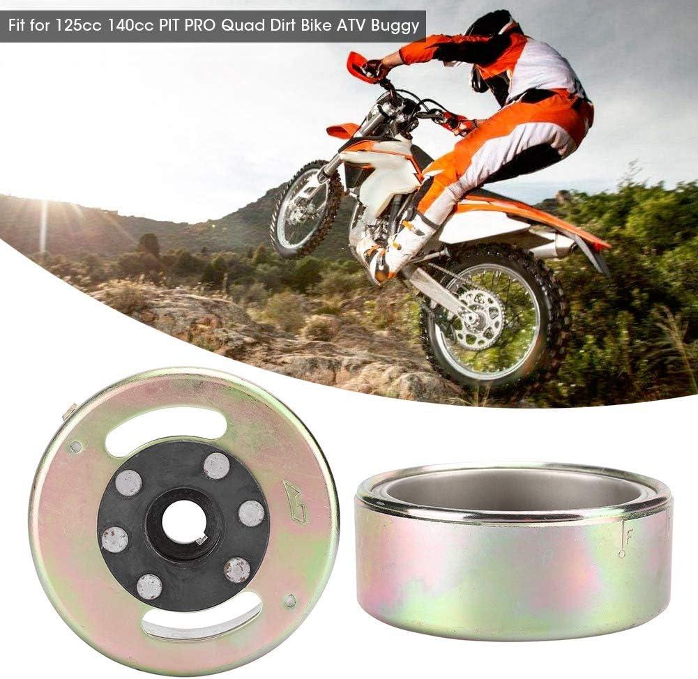 d/émarreur de volant magn/étique en acier inoxydable adapt/é pour 125cc 140cc PIT PRO Quad Dirt Bike ATV Buggy Rouleau de volant magn/étique
