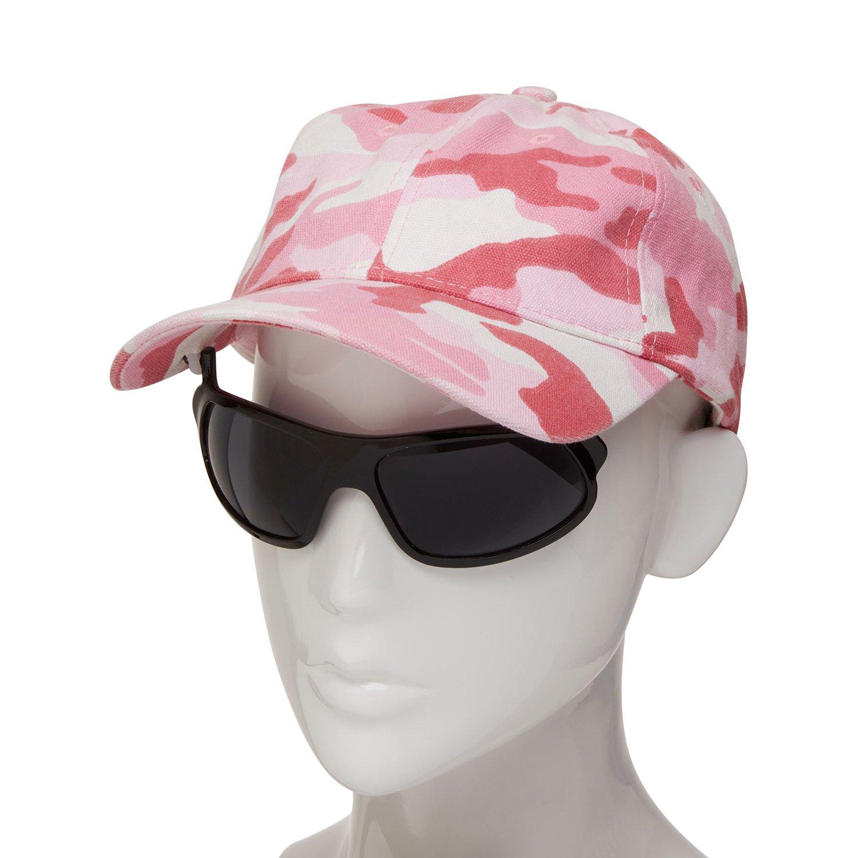 iShades Baseball Cap With Integrated Flip-Up/Down Sunglasses