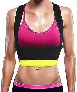 160b132c72e Ursexyly Cute Fat Burner Vest Slimming Neoprene Sauna Suit Waist Trainer  Tank Top for Women