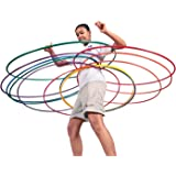 "Pull Buoy 8007D Skinny Hoop Set, 30"" Diameter, Assorted Colors"