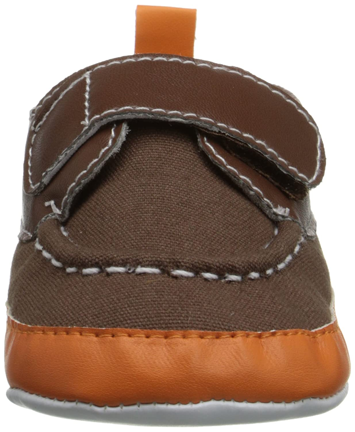 Luvable Friends Bright Boys Boat Crib Shoes Boat Shoes