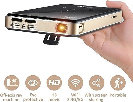 Mini proyector portátil chunnuo S905 CPU 2/16G proyectores DLP ...