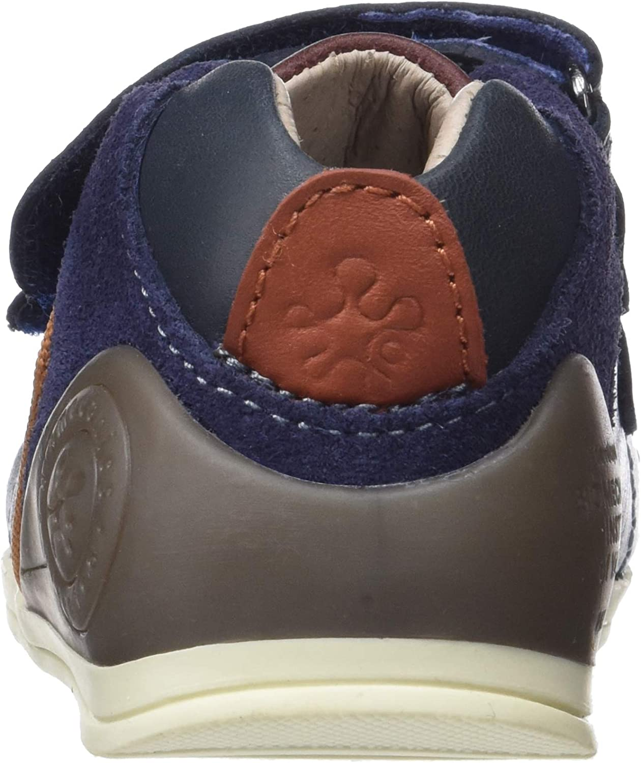 Garvalin Boys Matias First Leather Protective Rip Tape Shoes 3//19 Navy