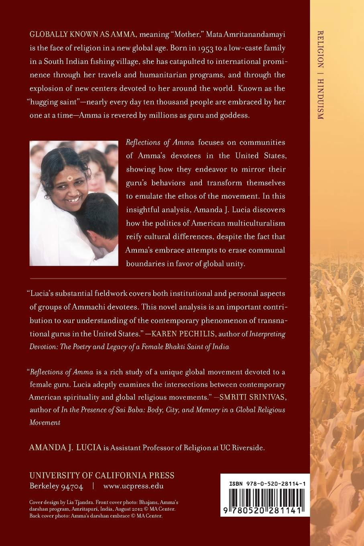 Reflections of Amma: Devotees in a Global Embrace: Amanda J  Lucia