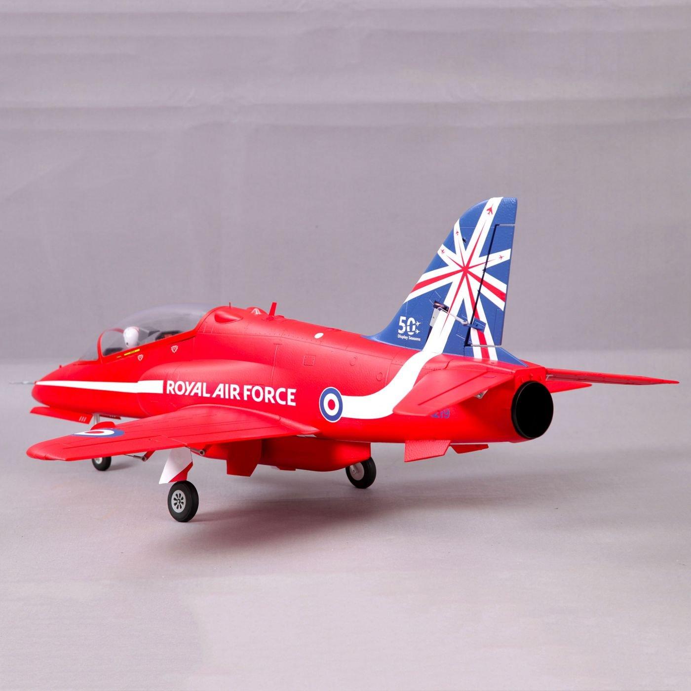 FMS BAE Hawk Red Arrow PNP 80mm EDF Jet