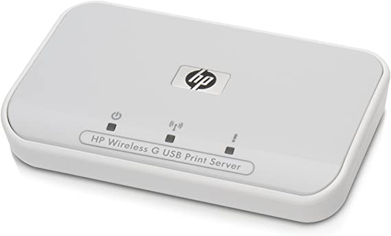 HP 2101nw Wireless G Print Server - Servidor de impresión: Amazon ...
