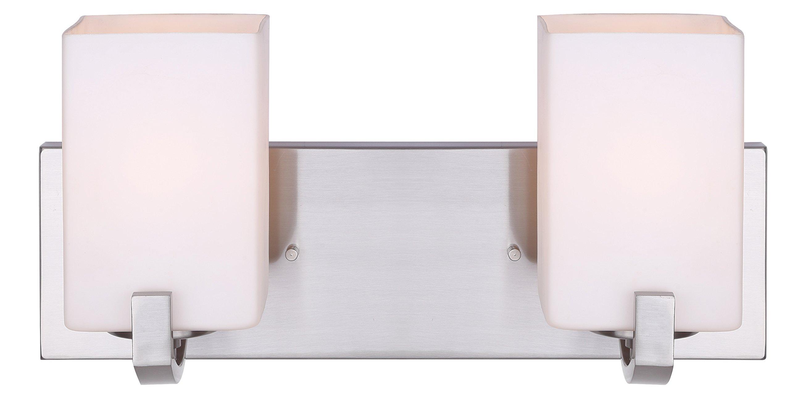 Canarm IVL422A02BN Palmer 2-Light Bath Vanity