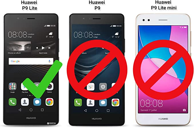 Moozy Funda para Huawei P9 Lite, Oro: Amazon.es: Electrónica