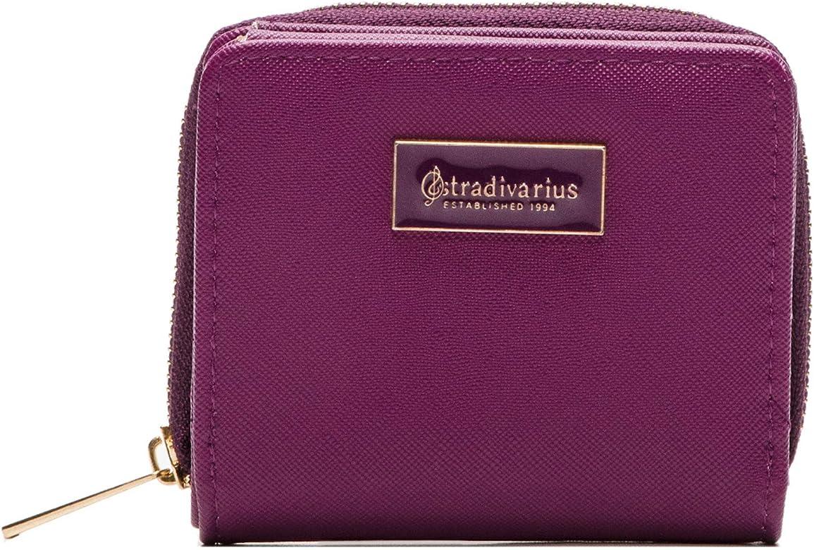 Stradivarius 3705-1-440 - Cartera para mujer mujer Morado morado Medium: Amazon.es: Zapatos y complementos