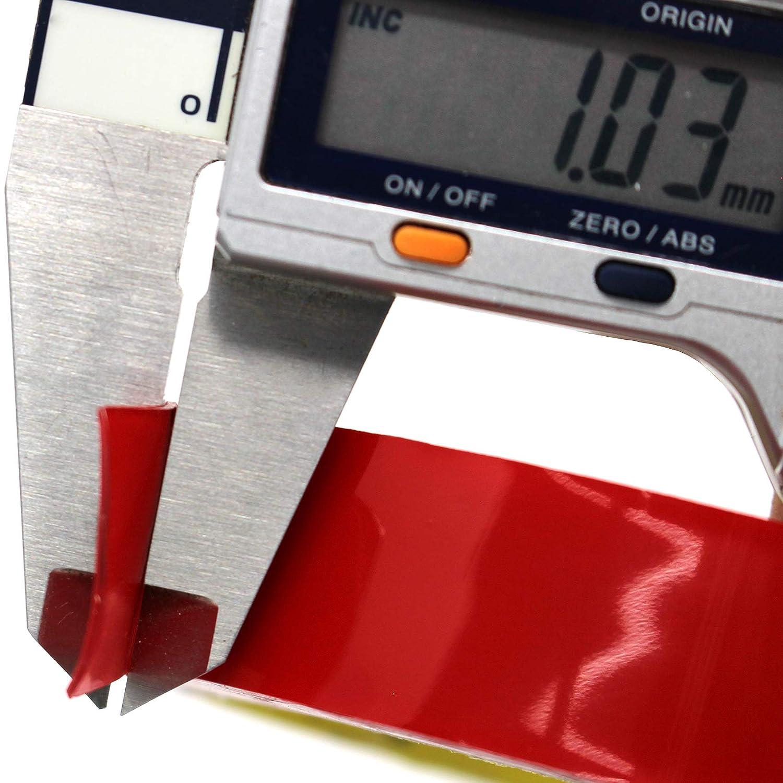 12mm x 3Meter, VHB 4218P Finest Folia 3M Doppelseitiges Klebeband 3 Meter Scotch Montageklebeband 4218P VHB 4910F Hochleistungsklebeband extra Stark Temperatur Resistent
