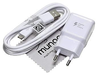 Cargador para Original Flash rápido Samsung 2A USB + 1,5 m ...