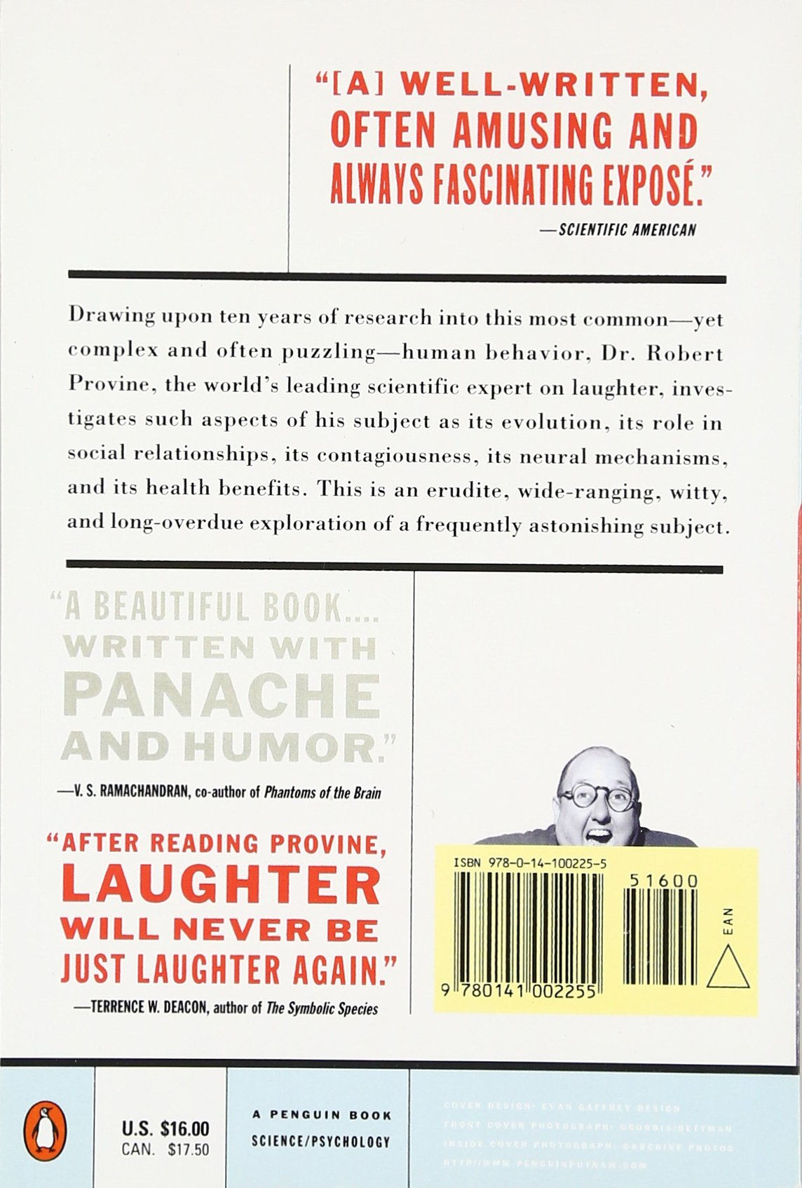 Laughter: A Scientific Investigation: Robert R. Provine ...