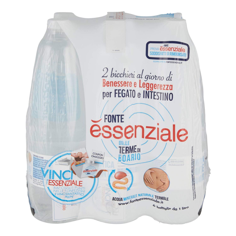Amazon.com: Essential Source Boario Terme Spa Ferrarelle Water 1 Liter: Health & Personal Care