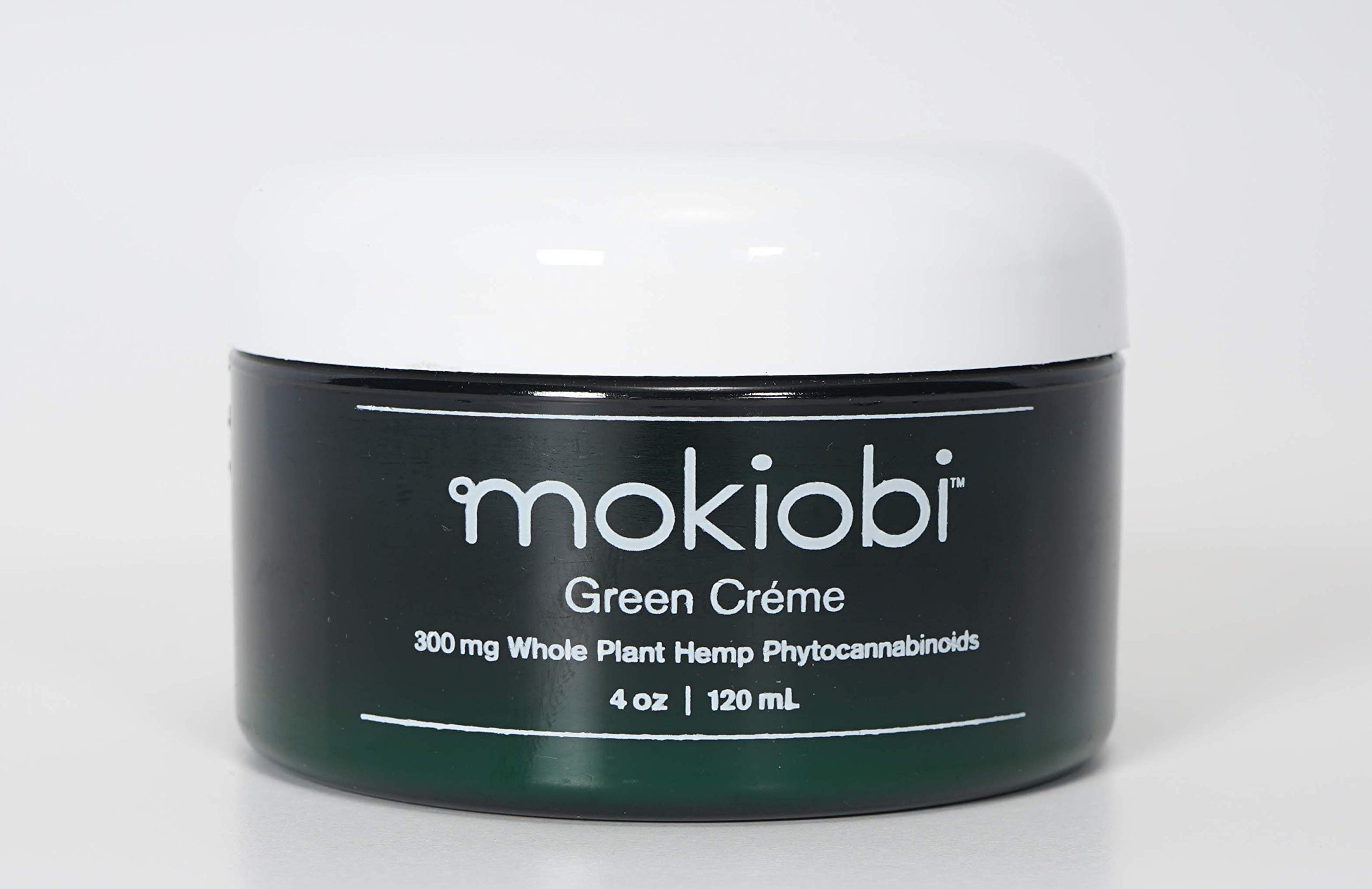 Mokiobi Green Créme - Whole Hemp Plant Infused Muscle & Skin Créme by Mokiobi