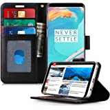 FYY Samsung S9 Case, S9 Cover [Kickstand Feature] Flip Folio Samsung Galaxy S9 PU Leather Wallet Case with [Card Slots] [Note Pockets] and [Magnetic Closure] Phone Case for Samsung Galaxy S9 Black