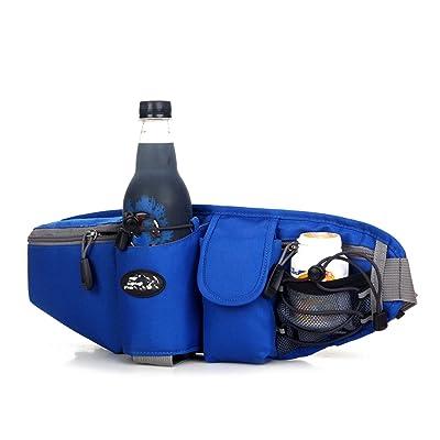 GXYLLDS Waist Pack Sport Course Fitness Voyage Bouilloire étanche Sécurité Sac De Téléphone Cellulaire Homme Et Femme,Blue-OneSize