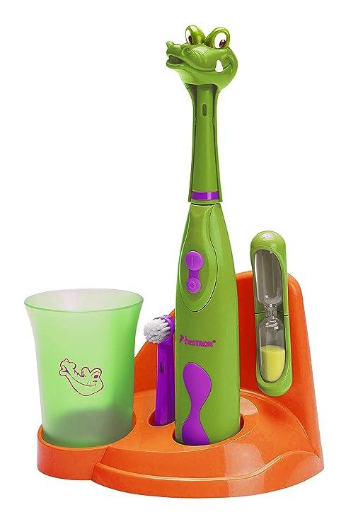 Bestron DSA3500A - Bestron DSA3500A Niño Cepillo dental giratorio Verde, Naranja, Púrpura Verde