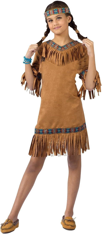 Native American Princess Costume Dress Girls Size