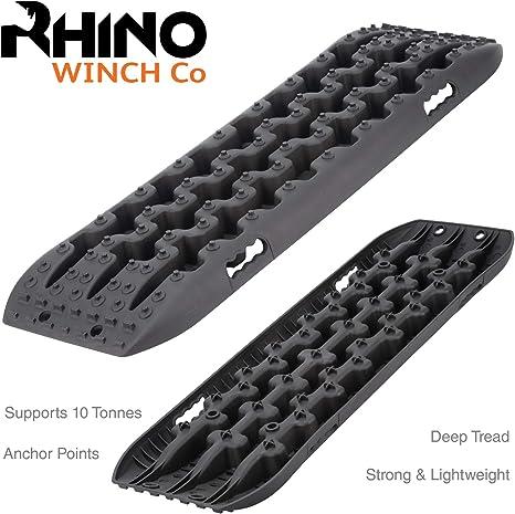 Tracce di recupero 4x4 Rhino 10t OFF ROAD Trazione schede Sabbia//fango//neve
