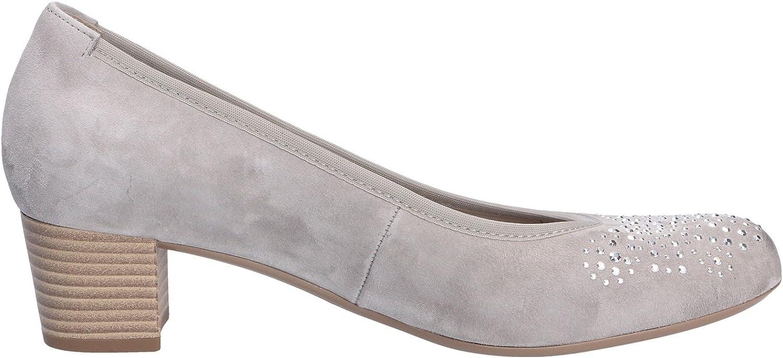 Women's Pumps Gabor 65.381.19 gray Women's Shoes Suede Grau