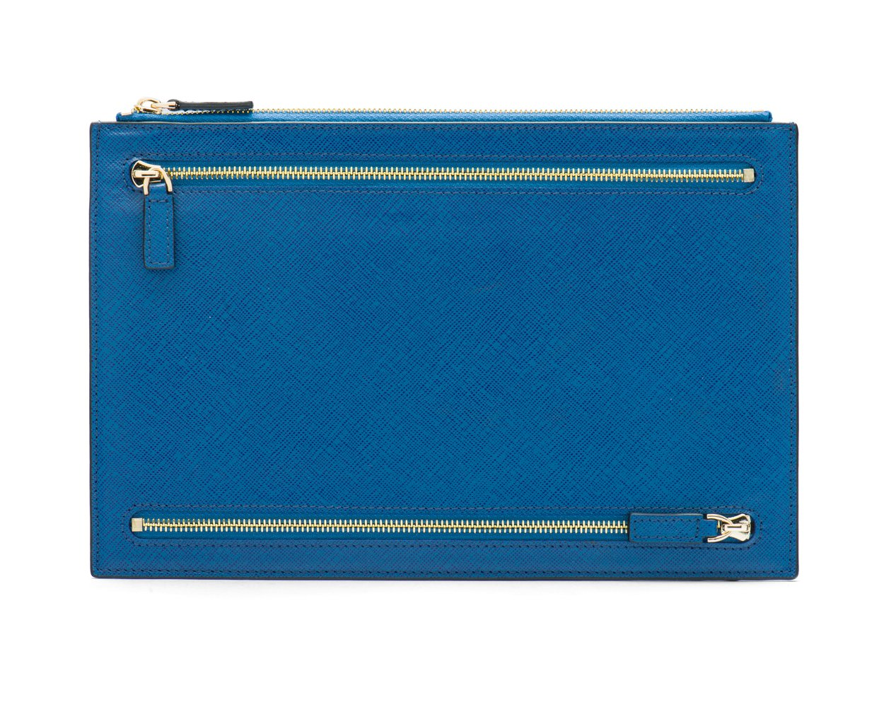 SAGEBROWN Cobalt Travel Document And Currency Case