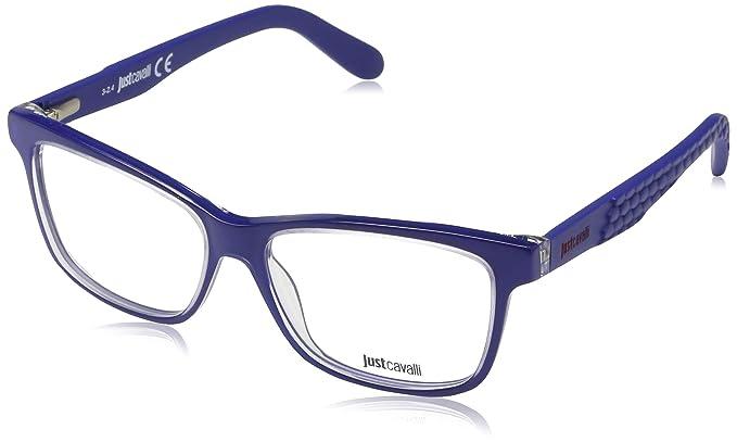 543911c440 Just Cavalli Optical Frame Jc0642 090 53 Lunettes de soleil, Bleu (Blau),  53.0 Femme: Amazon.fr: Vêtements et accessoires
