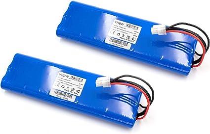 vhbw 2X Batería Compatible con Husqvarna Automower 210AC, 210C, 220AC, 230ACX, 260ACX, G2 (2004-2006), SH. cortacésped (NiMH, 3000mAh, 18V)