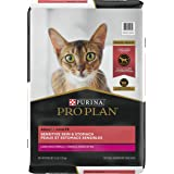 Purina Pro Plan Sensitive Skin & Stomach High Protein Adult Dry Cat Food & Wet Cat Food (Packaging May Vary)