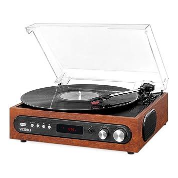 Amazon.com: Victrola All-in-1 - Reproductor Bluetooth con ...