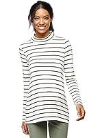 Splendid Striped Maternity Tunic