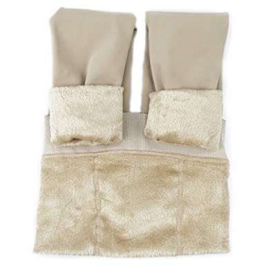 dde4eb8d27cc20 La Dearchuu Fleece Lined Stirrup Leggings Women UK Size 6-12 Thick Winter  Leggings Soft
