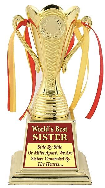 Sister Diwali GiftSister BHAIYA DOOJ Birthday Gift TrophyAward By