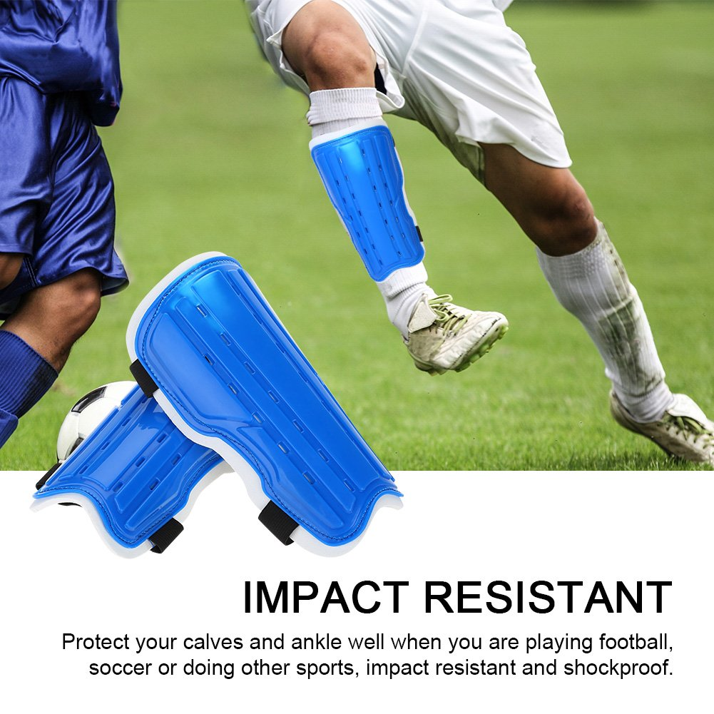 1Pair Dioche Soccer Shin Guard Adults Breathable Shockproof Soccer Sports Shin Pad Adjustable Football Leg Protective Guards Protective Gear