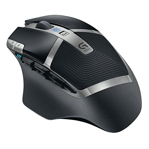 Logitech G602 Ratón Gaming inalámbrico USB Negro