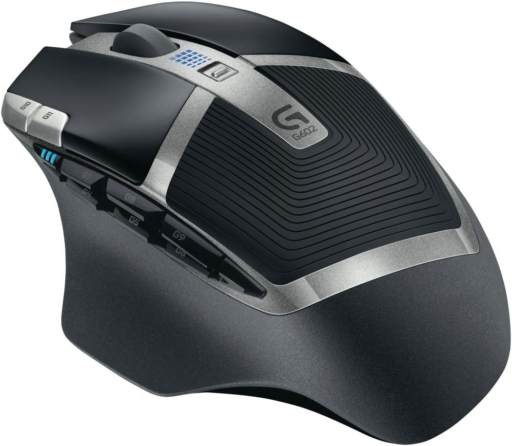 Logitech G602 Gaming Mouse Wireless, MA000319 (Wireless)