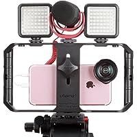 ULANZI U Rig Pro - Soporte de trípode para teléfono Inteligente, iPhone y iPhone para videomaker cinematográfico para…